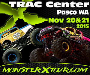 Monster X Tour Invades TRAC Center At Pasco, Washington