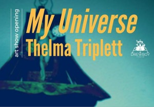 My Universe: Thelma Triplett Artist Reception by DrewBoy Creative | Art That Centers on Nature and Social and Political Matters in Richland, WA
