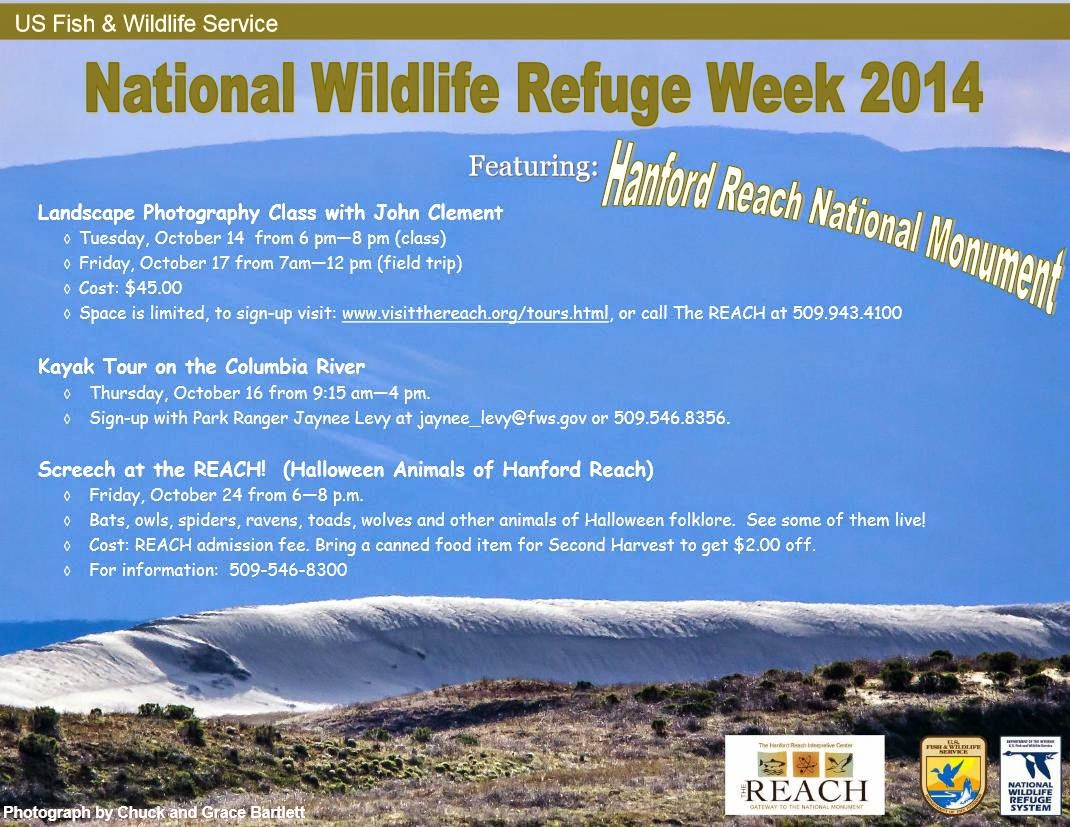 National Wildlife Refuge Week 2014 In Richland, Washington