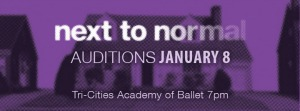 Mid-Columbia Musical Theatre Presents 'Next To Normal': Auditions Open To Individuals With Remarkable Vocal Abilities | Richland, WA