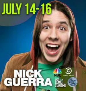 Nick Guerra Performs at Joker's Comedy Club:A Night of Guffaw with a Young, Promising Comedian | Richland, WA