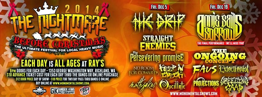 The Nightmare Before Christmas - Heavy Metal Shows In Richland, Washington