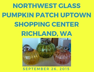 Northwest Glass Pumpkin Patch Uptown Shopping Center Richland, Washington