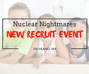 Nuclear Nightmares New Recruit Event: Be One of the Skaters Who Help Out Throughout the Tri-Cities in Richland,  WA
