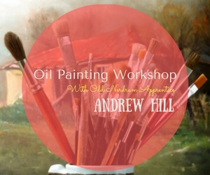 Oil Painting Workshop With Odd Nerdrum Apprentice Andrew Hill | Confluent Space Tri-Cities in Richland, WA