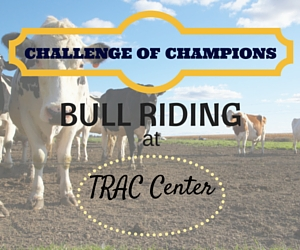 Coastal Farm and Ranch Challenge of Champions Bull Riding at TRAC Center in Pasco, WA