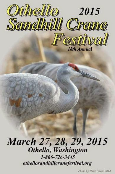 Othello Sandhill Crane Festival In Othello, Washington