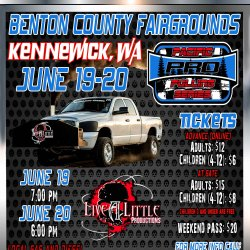 Pacific Pro Pulling Series Truck And Tractor Pulls! Kennewick, Washington