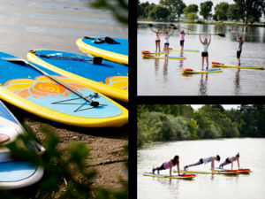 Stand Up Paddle Board Yoga Class For Teens In Kennewick, Washington