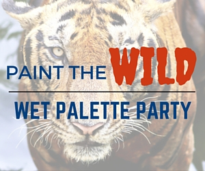 Wet Palette Party: Paint the WILD -Tiger, Elephant, Cheetah, Zebra or Giraffe | Richland, WA