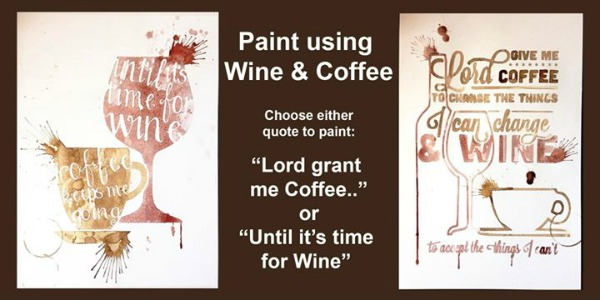 Paint with Wine and Coffee with Cameron Milton | The Wet Palette Studio in Richland WA