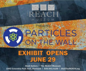 Particles on the Wall - Travelling Art Exhibit at Hanford Reach Interpretative Center | Richland, WA