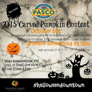 Pasco Farmers Market Carved Pumpkin Contest & Trick Or Treat Pasco, Washington