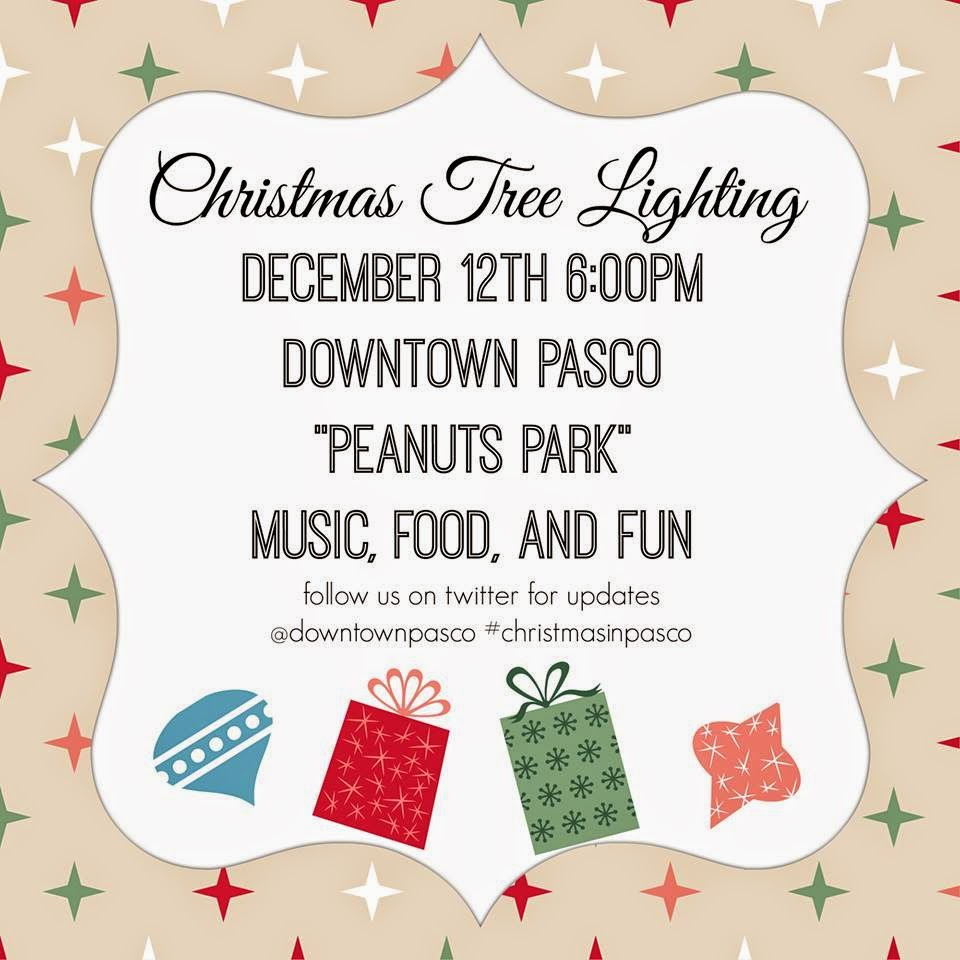 Christmas Tree Lighting Ceremony And Entertainment In Pasco, Washington
