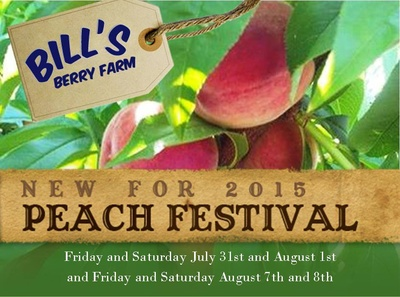 Bill's Berry Farm Peach Festival In Grandview, Washington