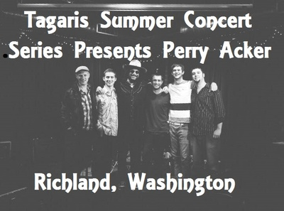 Tagaris Summer Concert Series Presents Perry Acker Richland, Washington