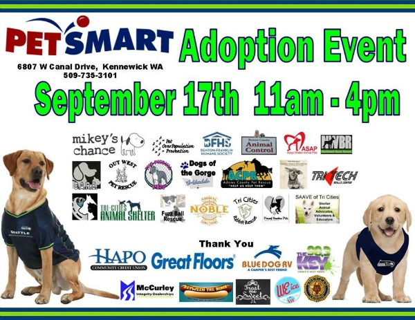 PetSmart Charities' National Adoption Event: Give Shelter to Homeless Pets | Kennewick