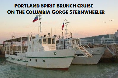 Portland Spirit Brunch Cruise On The Columbia Gorge Sternwheeler Kennewick, Washington