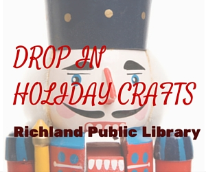 Drop In Holiday Crafts at Richland Public Library