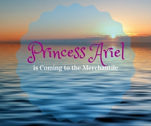 Princess Ariel is Coming to the Merchantile: Meet and Greet The Little Mermaid | Kennewick