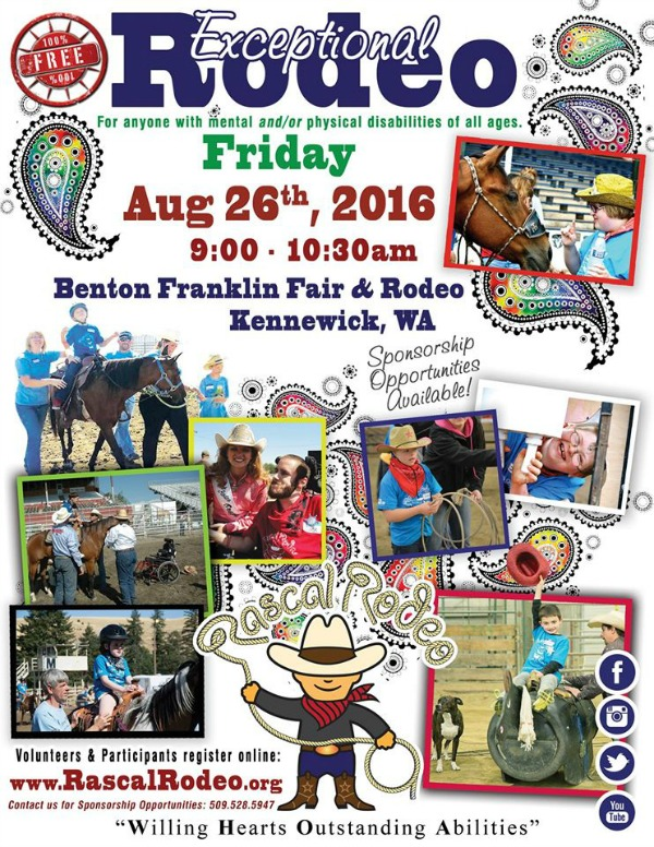 Rodeo for People with Special Needs of All Ages: A Taste of the Western Life   Kennewick