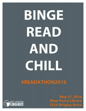 Mid-Columbia Libraries' Read-A-Thon 2016: The Most Rewardingly Relaxing Marathon at West Pasco Branc