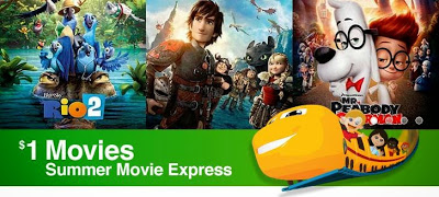 Summer Movie Express - Regal Columbia Mall Stadium 8 - Kennewick, Washington