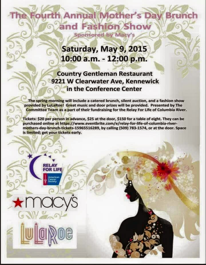 Relay For Life Of Columbia River - Mother's Day Brunch Kennewick Washington