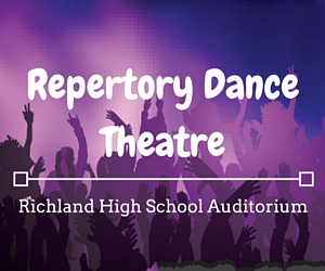 Repertory Dance Theatre: The Modern Dance Experts' Performance at Richland High School