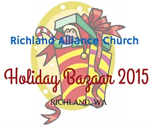 Richland Alliance Church Holiday Bazaar 2015 in Richland, WA