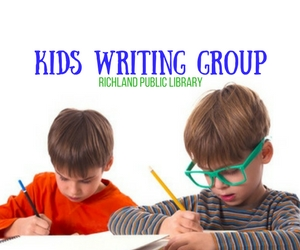 Kids Writing Group: Wade Through the Process of Writing | Richland Washington Public Library