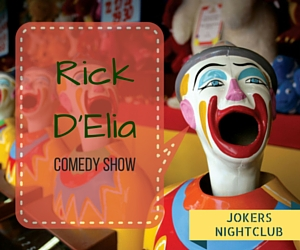 Rick D'Elia Comedy Show: Laugh at Rick's Drollery on a St. Patrick's Night | Richland, WA