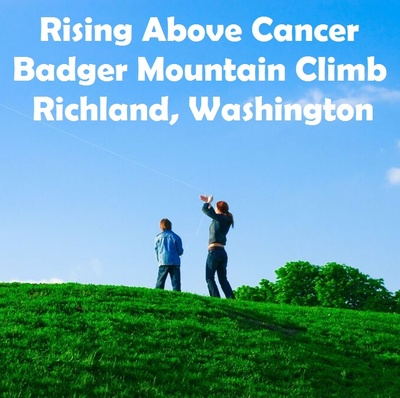 Rising Above Cancer Badger Mountain Climb In Richland, Washington