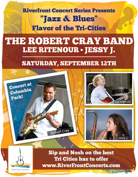 Jazz and Blues, River Front Concerts, Columbia Park Kennewick Washington