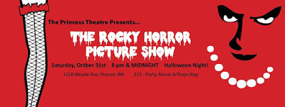 Rocky Horror Picture Show At Princess Theatre Prosser, Washington