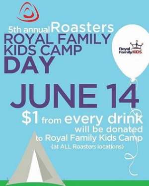5th Annual Royal Family Kids Day at Roasters Coffee: Make a Difference with a Cup of Coffee | Kennewick, Pasco & Richland, WA Branches