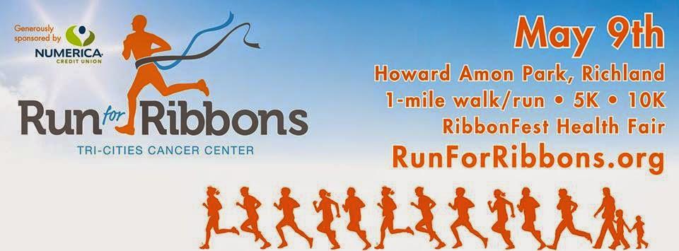 Run For Ribbons At Howard Amon Park In Richland, Washington