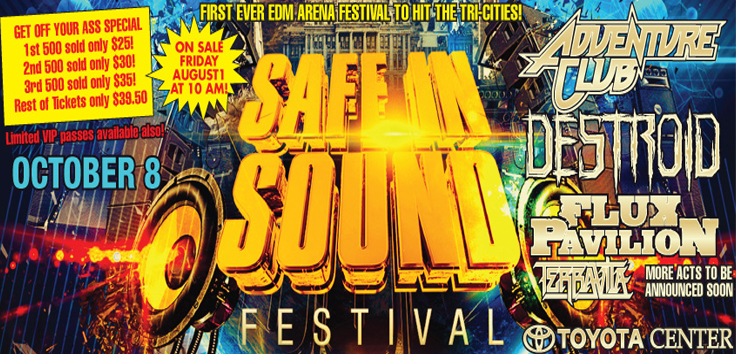 Safe In Sound Festival Toyota Center In Kennewick, Washington