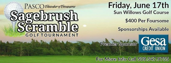 Pasco Chamber of Commerce's 5th Annual Sagebrush Scramble Golf Tournament in Pasco, WA