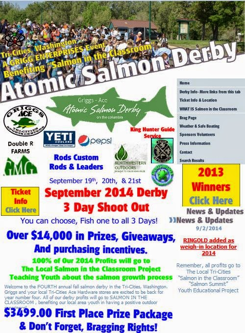 Fourth Annual Atomic Salmon Derby Tri Cities, Washington