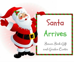 Santa Arrives at Beaver Bark Gift and Garden Center | Spend Time with the Christmas Legendary Figure | Richland, WA