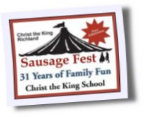 Christ The King Sausage Fest in Richland Washington