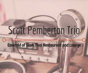 The Emerald of Siam Presents Scott Pemberton Trio: The Psychedelic Funk Rock Group from Portland | Richland, WA