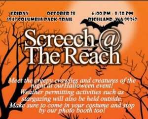 Screech at The Reach: Exciting Halloween Event with the Creepy Night Creatures | Richland, WA