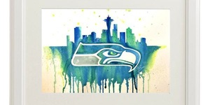 Wet Palette Paint Party - Seahawks Gordon Estate Wine Bar Pasco, Washington