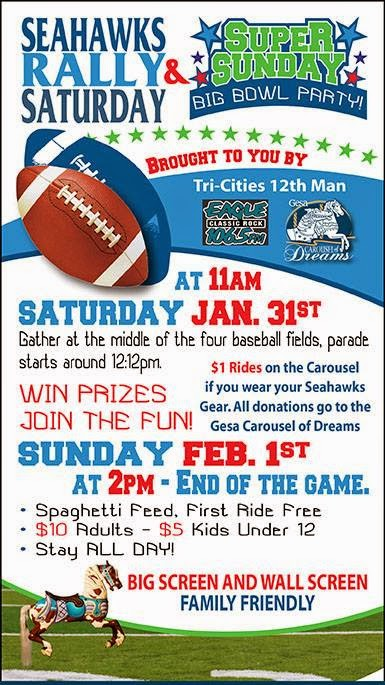 Super Sunday Big Bowl Party & Spaghetti Feed Kennewick, Washington