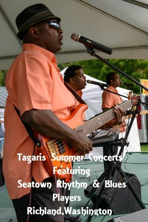 Tagaris Summer Concerts: Seatown Rhythm & Blues Players Richland,Washington