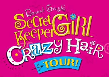 Secret Keeper Girl Crazy Hair Tour Calvary Chapel Kennewick, Washington