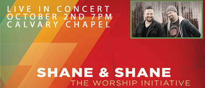 Shane & Shane Concert Calvary Chapel Tri-Cities Kennewick, Washington