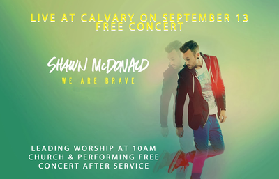 Shawn McDonald Concert At Calvary Chapel Tri-Cities Amphitheater Kennewick, Washington